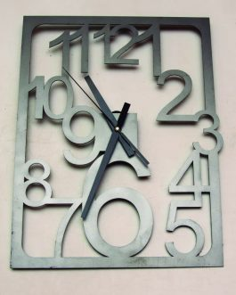 Relojes rectangulares de hierro 40×30 cm