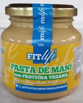 Pasta de Maní con Proteína Vegana FITLife