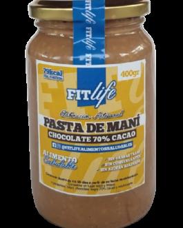 Pasta de Maní Chocolate 70% Cacao FITLife