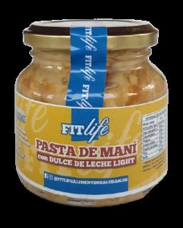 Pasta de Maní con Dulce de Leche Ligth FITLife