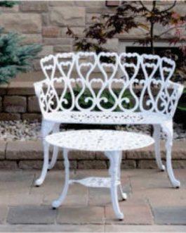 Sillon doble, 2 sillones simples y una mesa ratona